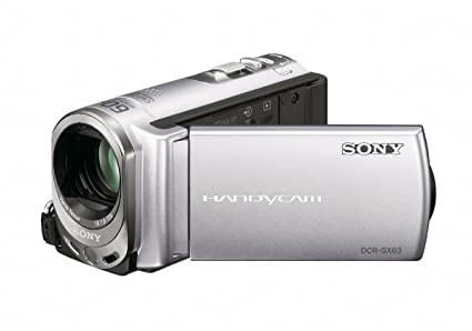 amazon com sony dcr sx63 flash memory handycam camcorder rh amazon com Sony Operating Manuals ICD-UX523 Sony Operating Manuals