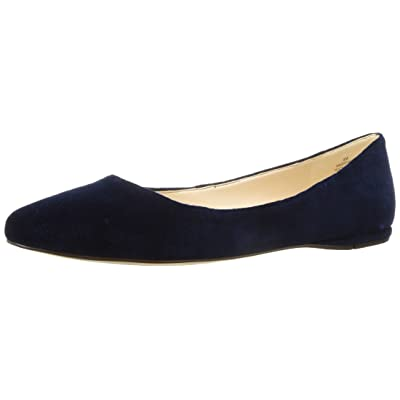 NINE WEST Women's Speakup Fabric Ballet Flat | Flats