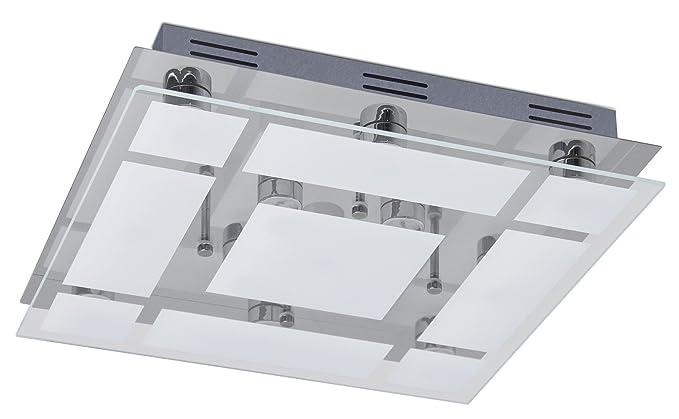 Trango design lampadario da bagno con faretti direzionali led da