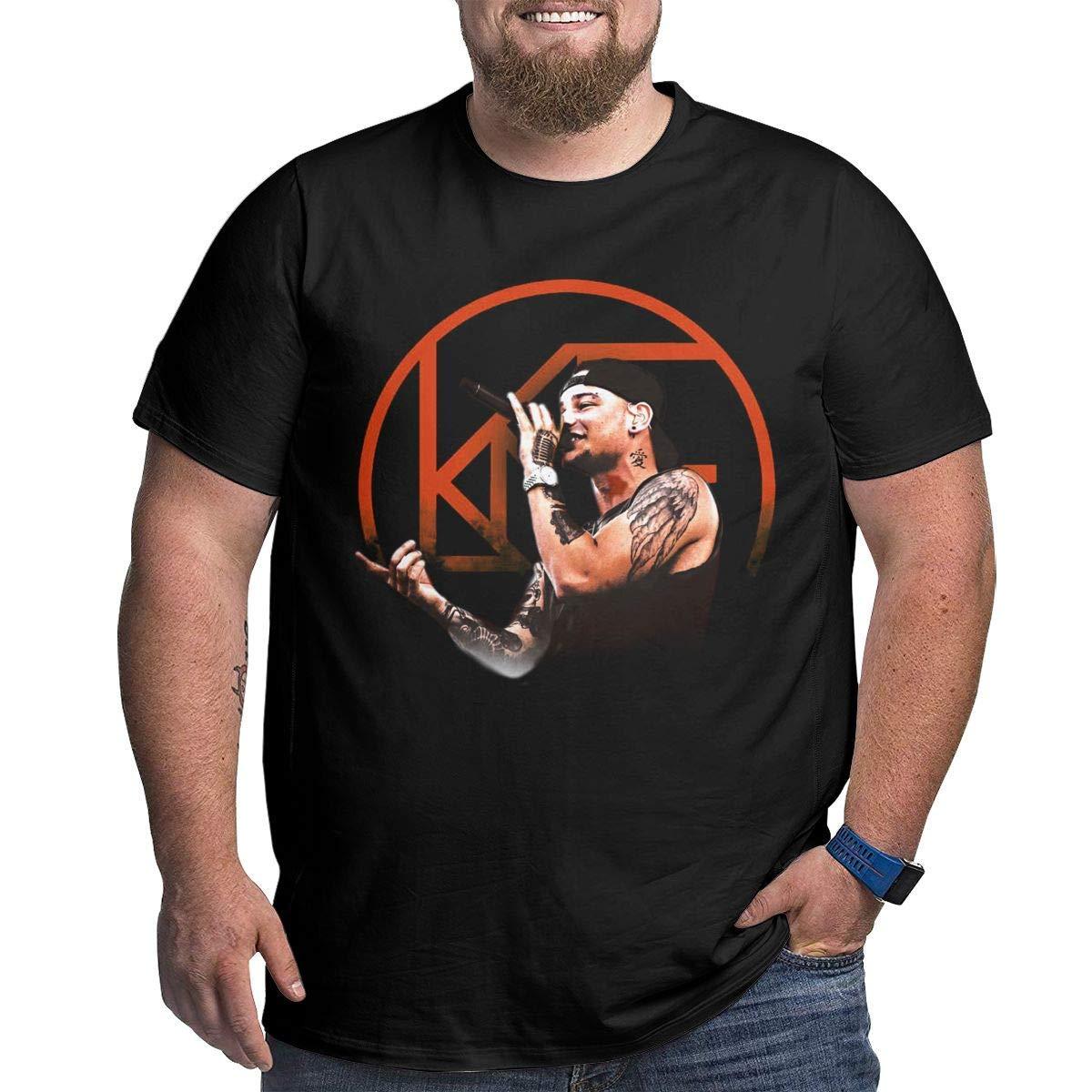 Men Big Size T Shirt Kane Brown Top Cool Oversize Tee Shirt Larger Waist Size