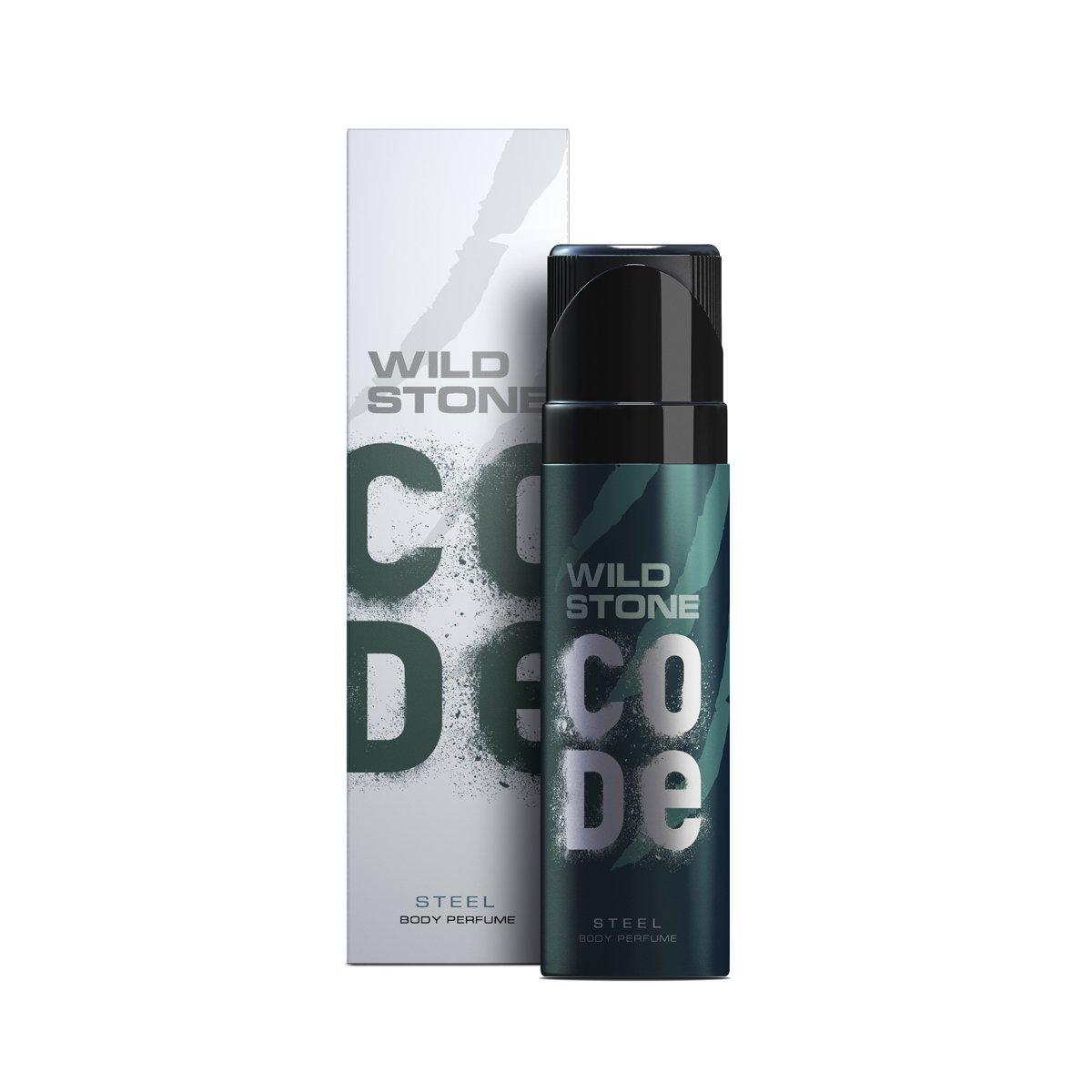 Wild Stone Steel Deodorant For Men, 120ml