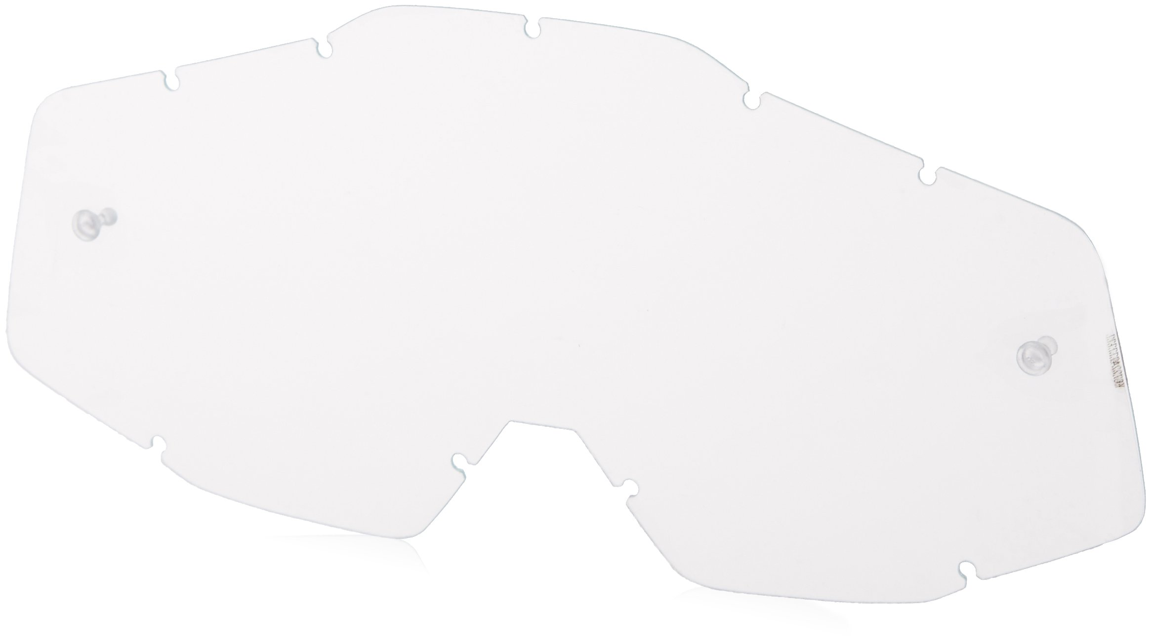 100% unisex-adult Goggle (Black,Mirror Silver,One Size) (RACECRAFT RC ABYSS Black Mirror Lens Silver) - 50110-001-02