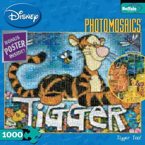 Buffalo Games Disney Photomosaic: Tigger TOO