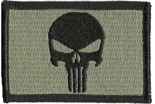 - Punisher Tactical Patch - ACU/Foliage