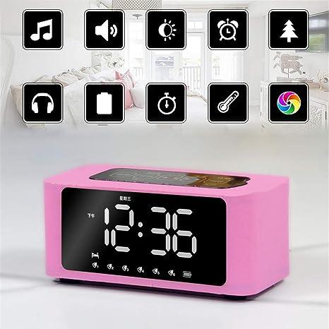 Reloj despertador digital electrónico inteligente LED ...