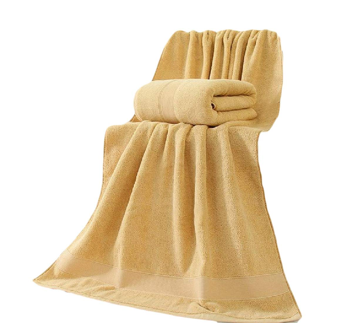 Sebaby Fit-and-Flare Highly Absorbent Cute Antibacterial Fast Drying Flattering No Fading Luxurious Stylish for Hotel and Spa Contenta Bath Beach Spa and Fitness Towel Brown 80160