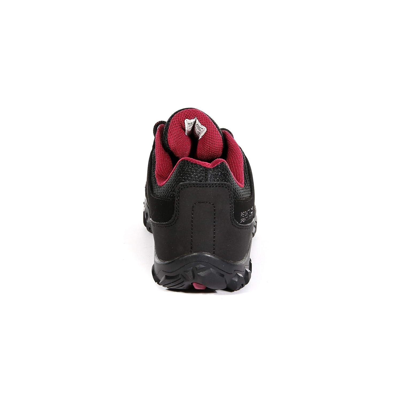 Regatta Womens Edgepoint Iii Waterproof Walking Shoes Low Rise Hiking Boots