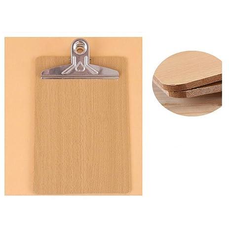 Klemmbrett Holzoptik für DIN A 5