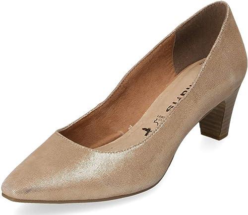 Tamaris Damen Pumps Gold Gr. 37: : Schuhe & Handtaschen