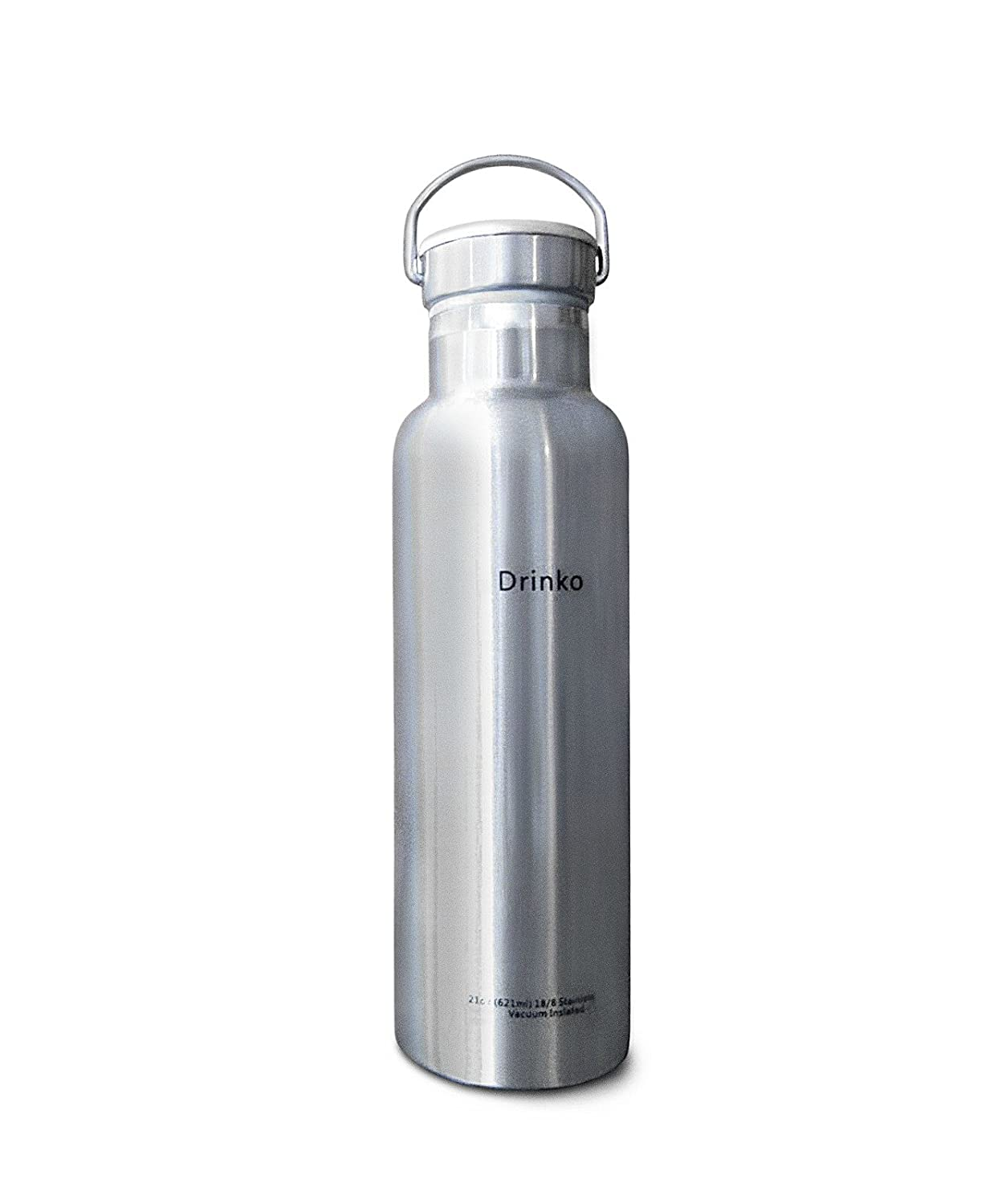 Eco-friendly Insulated 21 oz Stainless Steel Water Bottle by Drinko