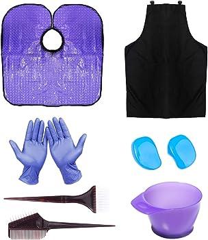 11-Piece Hyoujin Purple Hair coloring Dye Kit