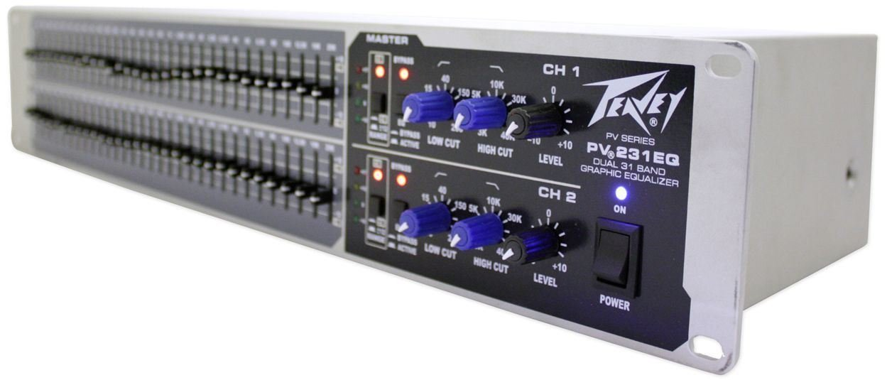 Peavey PV231EQ 31-Band Graphic Equalizer PV 231EQ + (2) Headphones by Unknown (Image #3)