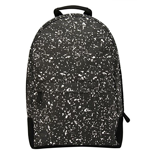Splattered Black White 17 Litre MiPac Maxwell Backpack  Splattered Black White, 20 Litre