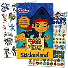 Jake and the Neverland Pirates Stickers ~ 295 Stickers