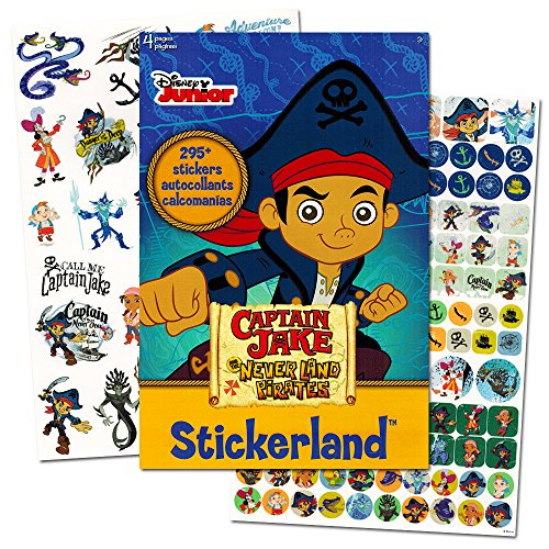 Jake and the Neverland Pirates Stickers ~ 295 (Jake The Pirate Stickers)
