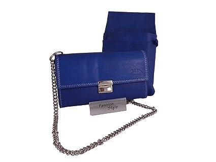 Euro Leder Monedero Varios colores azul: Amazon.es: Equipaje
