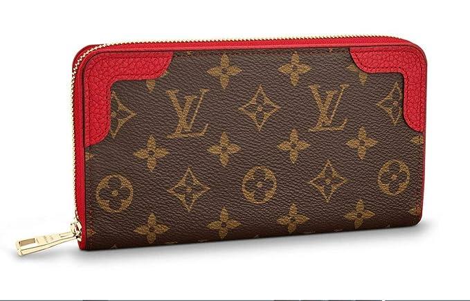 Auténtico Louis VUITTON Monogram Lienzo Zippy Wallet artículo: m60017: Amazon.es: Ropa y accesorios