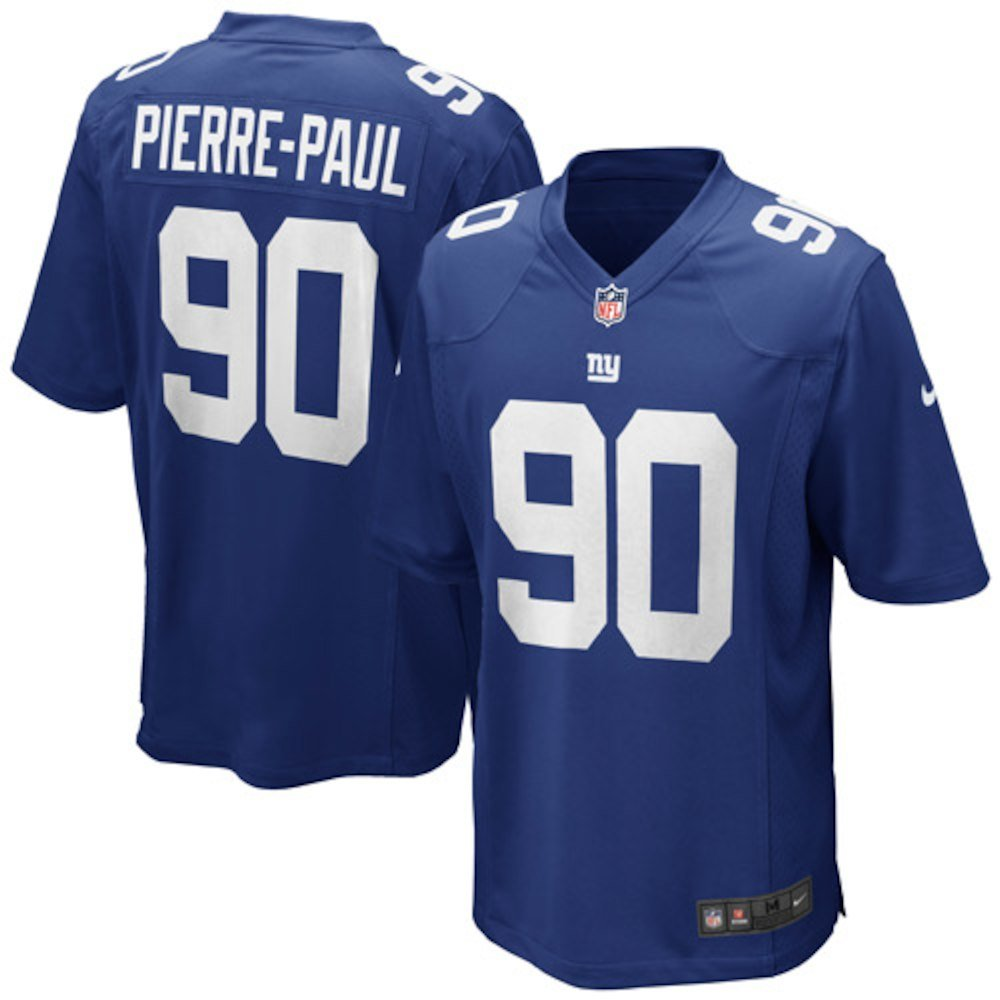 low priced aef4e 43190 Nike Jason Pierre-Paul New York Giants NFL Youth Blue Home On-Field Jersey  (Youth Large 14-16)