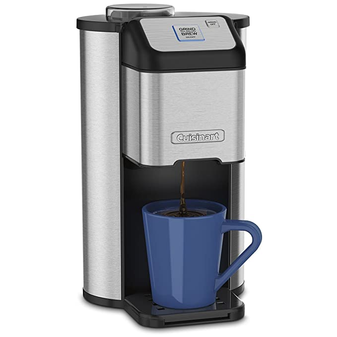 Amazoncom Cuisinart Dgb 1 Single Cup Grind Brew Coffeemaker