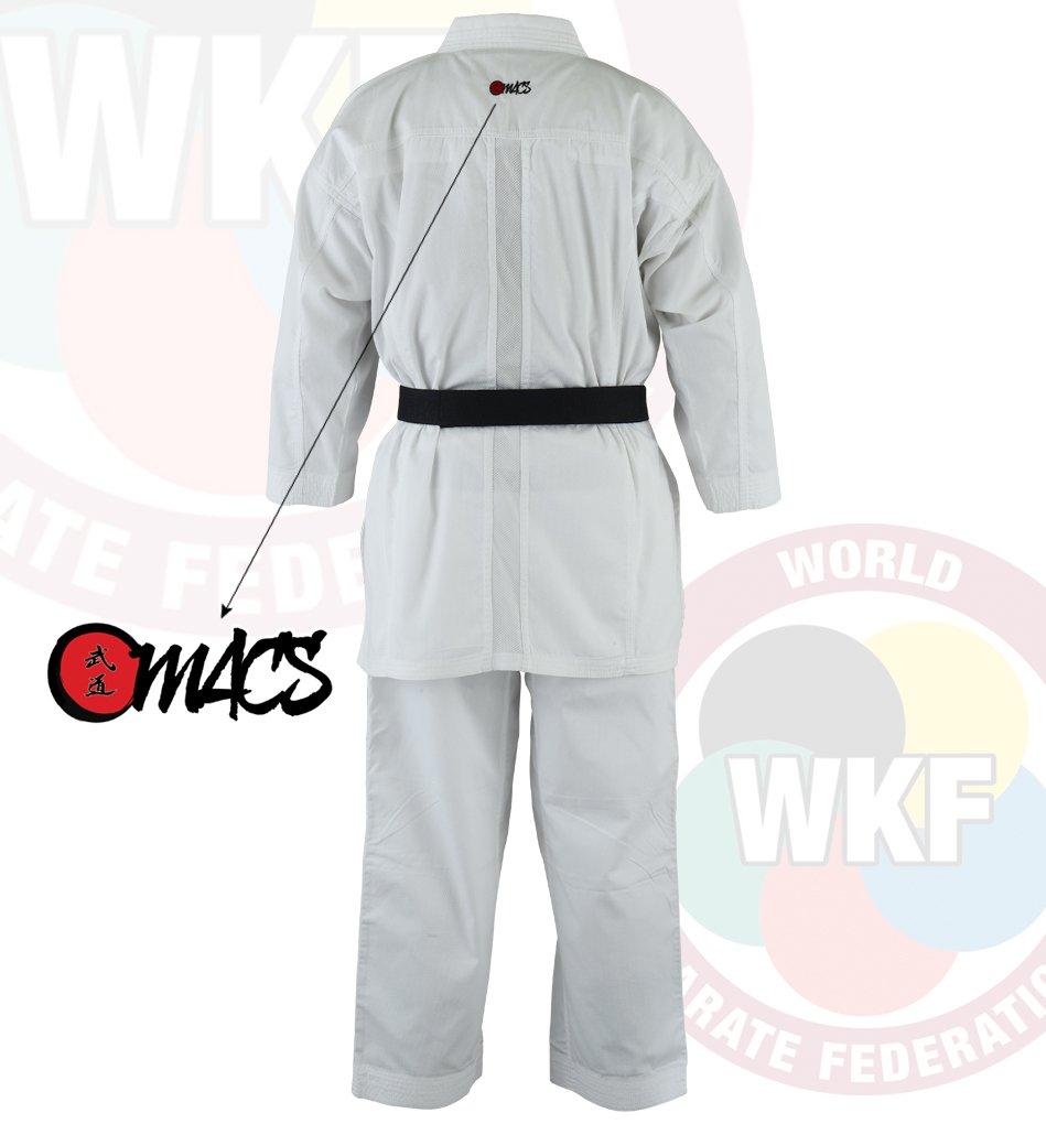 Amazon.com: MACS oficial aprobado por WKF Karate traje de ...