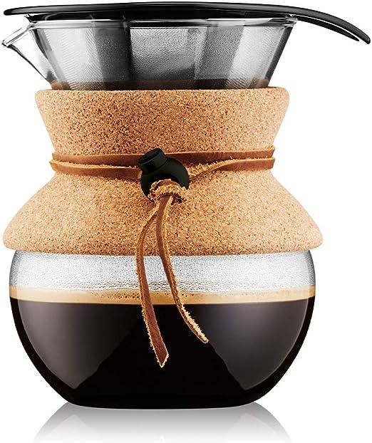 Bodum - 11592-109 - Pour Over - Cafetera de Filtro de Acero ...