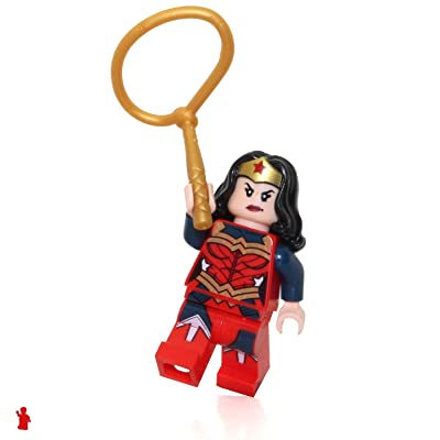 LEGO DC Super Heroes Minifigure - Wonder Woman (with Lasso) 2020 Exclusive Movie Version: Toys & Games