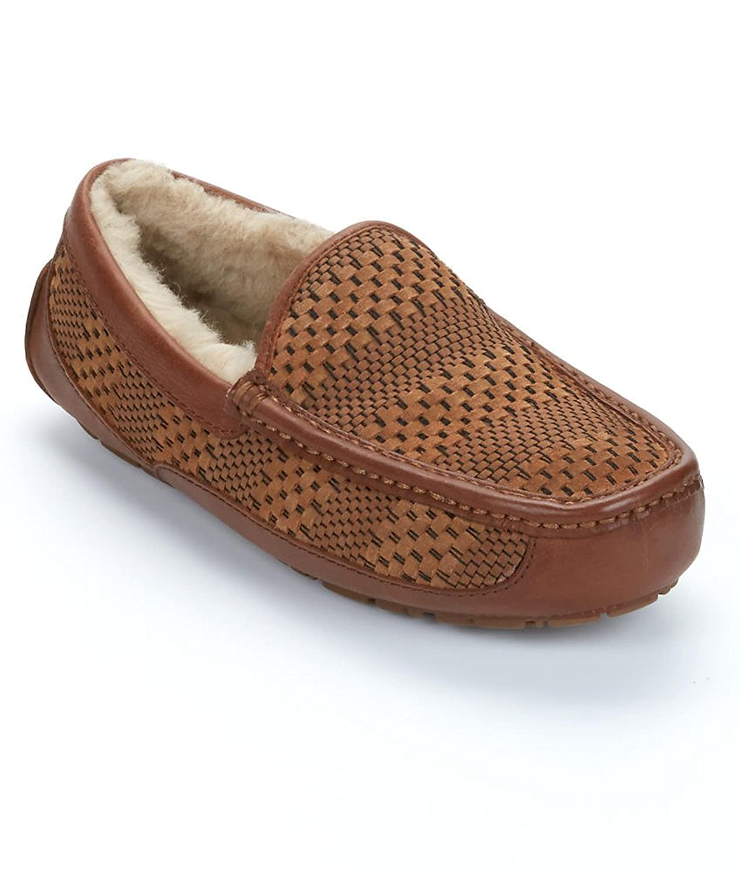 Amazoncom UGG Mens Ascot Slipper Flats - Ugg bedroom slippers