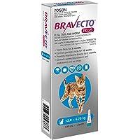 Bravecto Plus CAT 2.8-6.25KG 1PK Flea & Tick 3 Month Chew