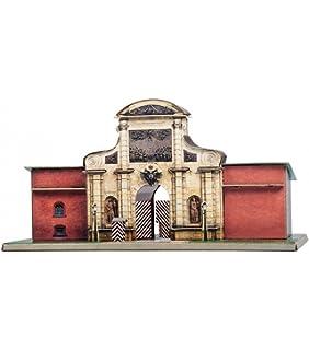 UMBUM 255 Gotische Kathedrale Mittelalter Premium 3D-Puzzle aus stabilem Ka