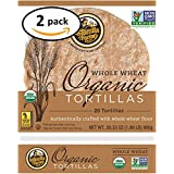 Organic Whole Wheat Tortillas 2-Pack (40 Tortillas)