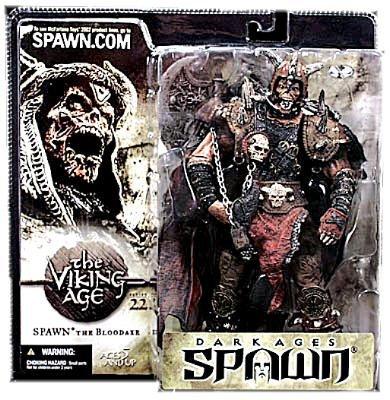 Spawn Viking Age - McFarlane - Spawn - Series 22 - Dark Ages Spawn: Viking Age - Spawn The Bloodaxe Ultra-Action Figure w/custom accessory