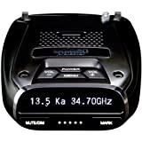 Uniden DFR7 Super Long Range Wide Band Laser/Radar Detector, Built-in GPS w/Mute Memory, Voice Alerts, Red Light & Speed…