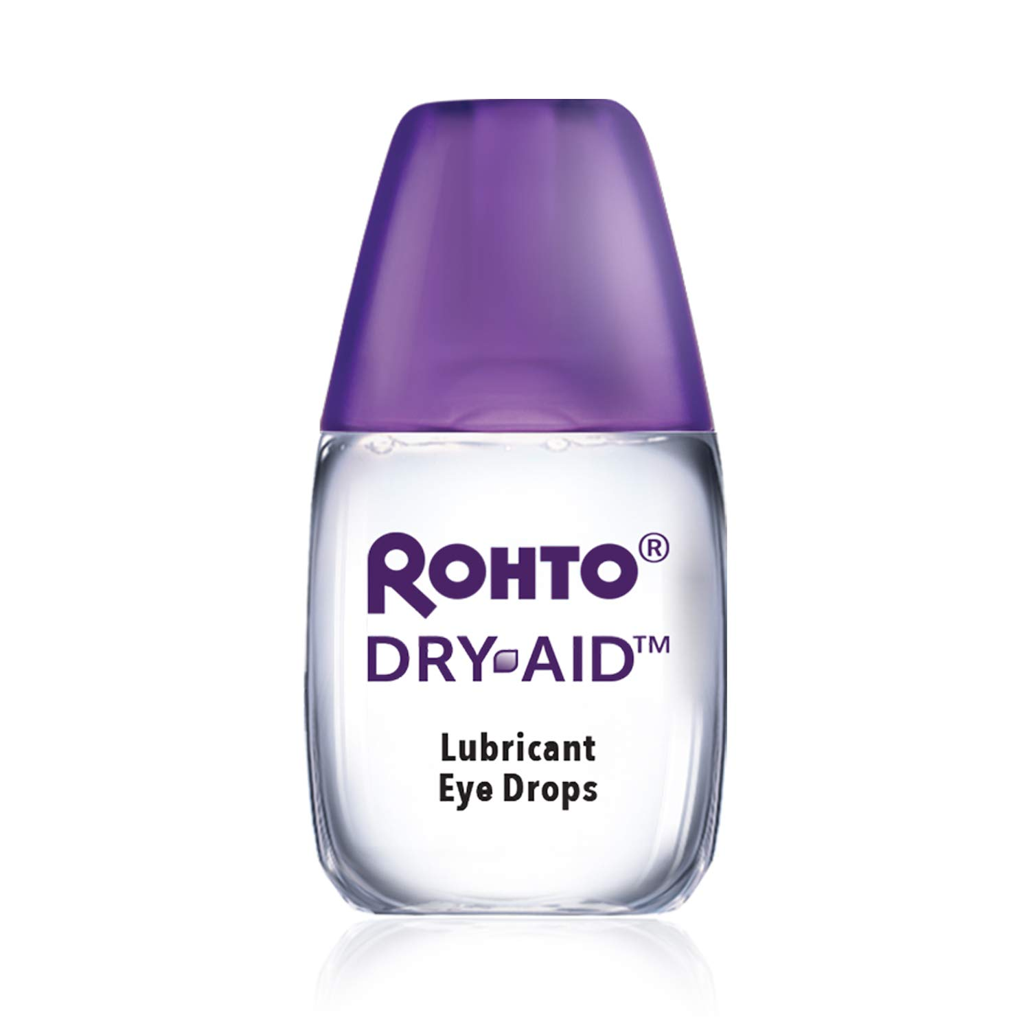 Rohto Dry-Aid Eye Relief Lubricant Eye Drops, Twin Pack (0.34 Ounce Each)
