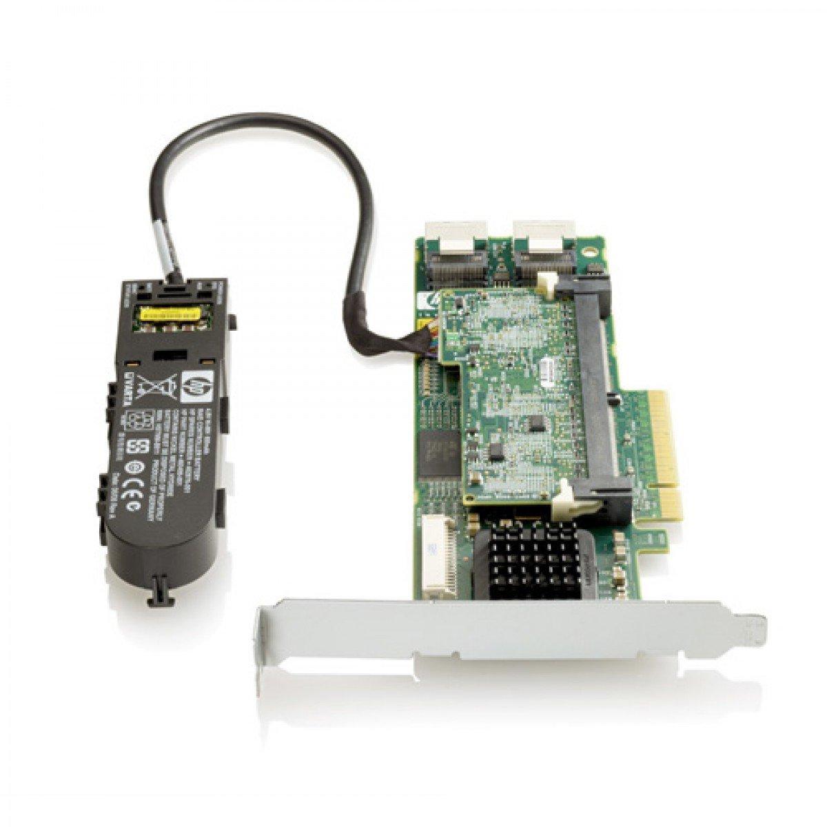 572532-B21 HP Smart Array P410/1G FBWC 2-ports Int PCIe x8 SAS Controller