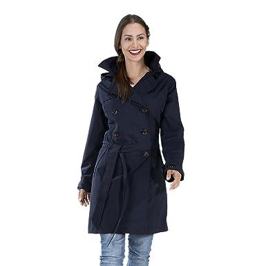 Femme Imperméable Avec Happyrainydays Manteau Trench Coat wAUHf