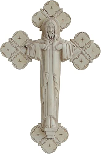 Culture Spot Renaissance Cross Wall Plaque Ready to Hang 14.5 Inches