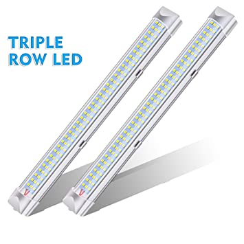 Interior Lights AMBOTHER 108 LEDs Bar Strip Lamp Universal Lighting DC12V 45W For