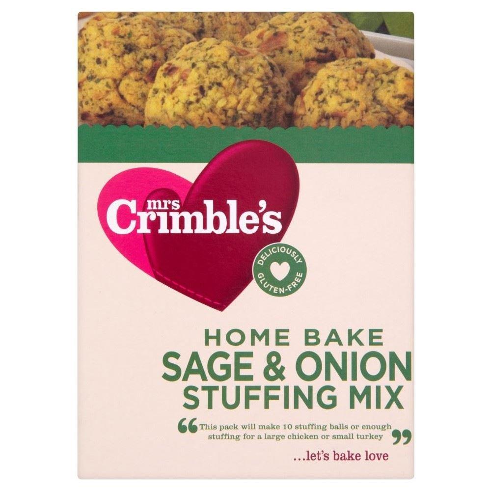 Mrs Crimble's Gluten Free Sage & Onion Stuffing Mix (170g) - Pack of 6