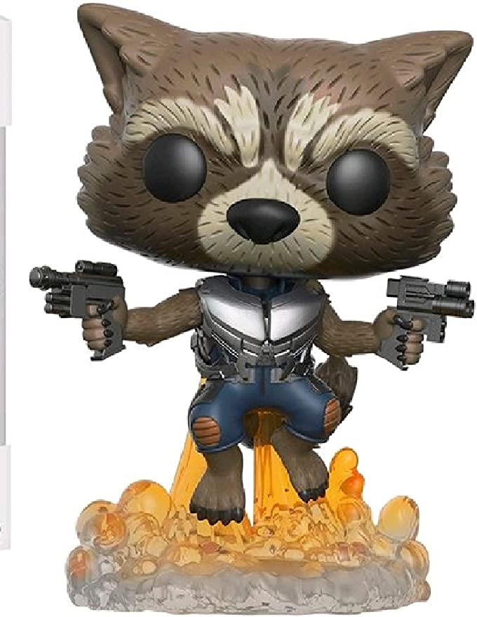 Funko POP Movies: Guardians of the Galaxy 2 Flying Rocket Toy Figure