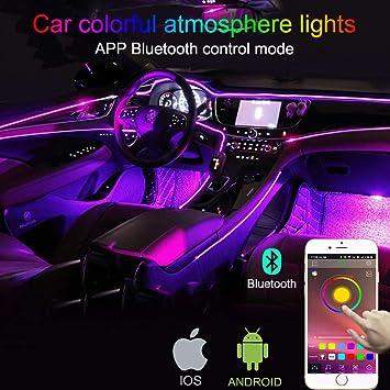 TABEN Auto Decorazione Interna Atmosfera Luce LED Interni Auto Kit