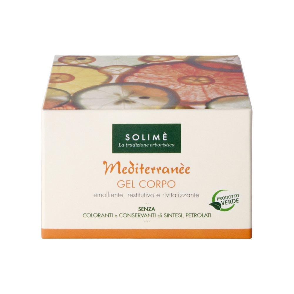 Mediterranèe gel corpo al mandarino e pomelo 200 ml - Prodotto erboristico made in Italy Solimè srl