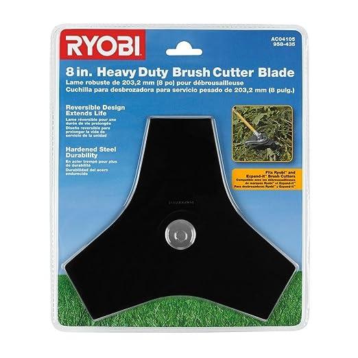 Ryobi 638006004 desbrozadora hoja cuchilla para podadora ...