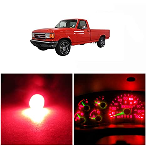 Amazoncom Wljh Bright Red Led Bulb Instrument Cluster