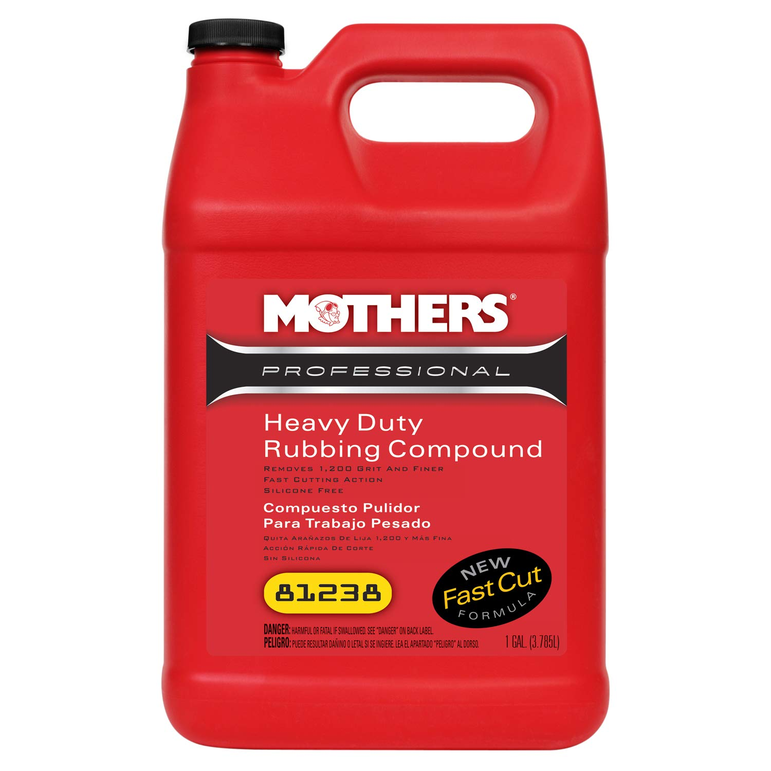 Mothers 81238 Professional Heavy Duty Rubbing Compound - 1 Gallon