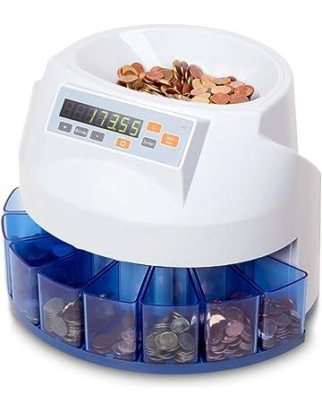 HBW Cash Solutions M3 - Máquina contadora y clasificadora de monedas (euro)