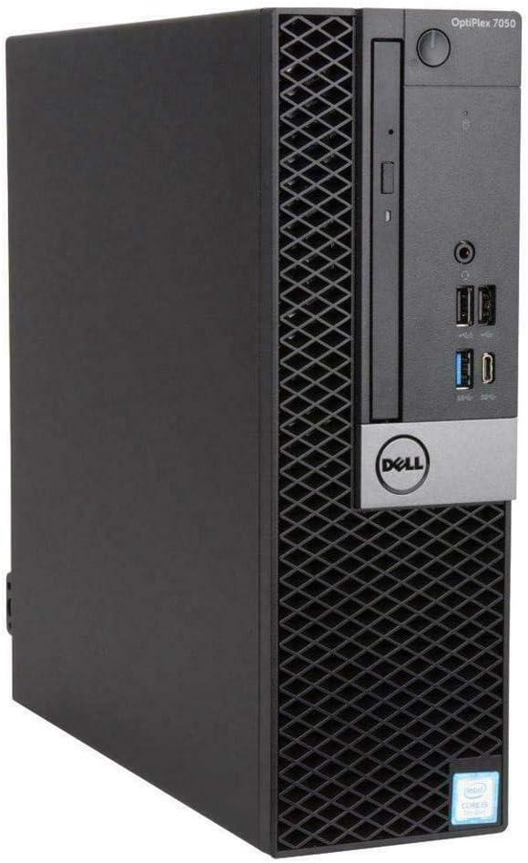 Dell OptiPlex 7050 Small Form Factor, Intel Core Quad i7 6700 up to 4.0 GHz, 16G DDR4, 1T SSD, WiFi, BT 4.0, DVDRW, DP, HDMI, Win 10 Pro 64-Multi-Language Support English/Spanish/French(Renewed)