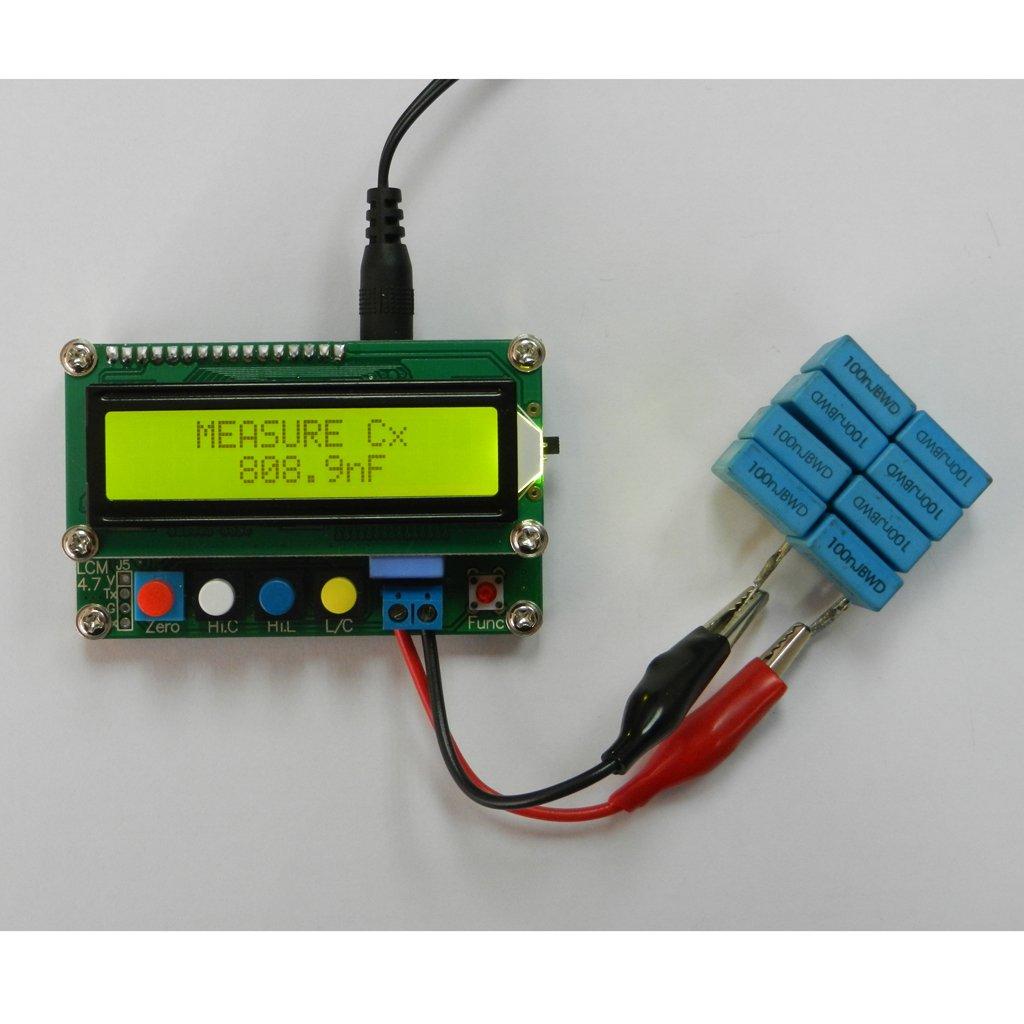 100A Digitale LC Tester Induttanza Capacit/à Ad Alta Precisione LCD LC