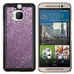 TECHCASE---Cubierta de la caja de protección para la piel dura ** HTC One M9+ M9 Plus ** --Rosa reflectante polvo Winter X Mas