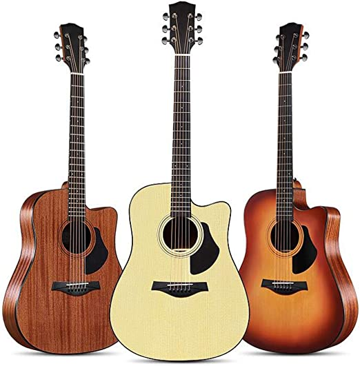 BAIYING-Guitarra Acústica Guitarra Clásica Principiante Balada ...