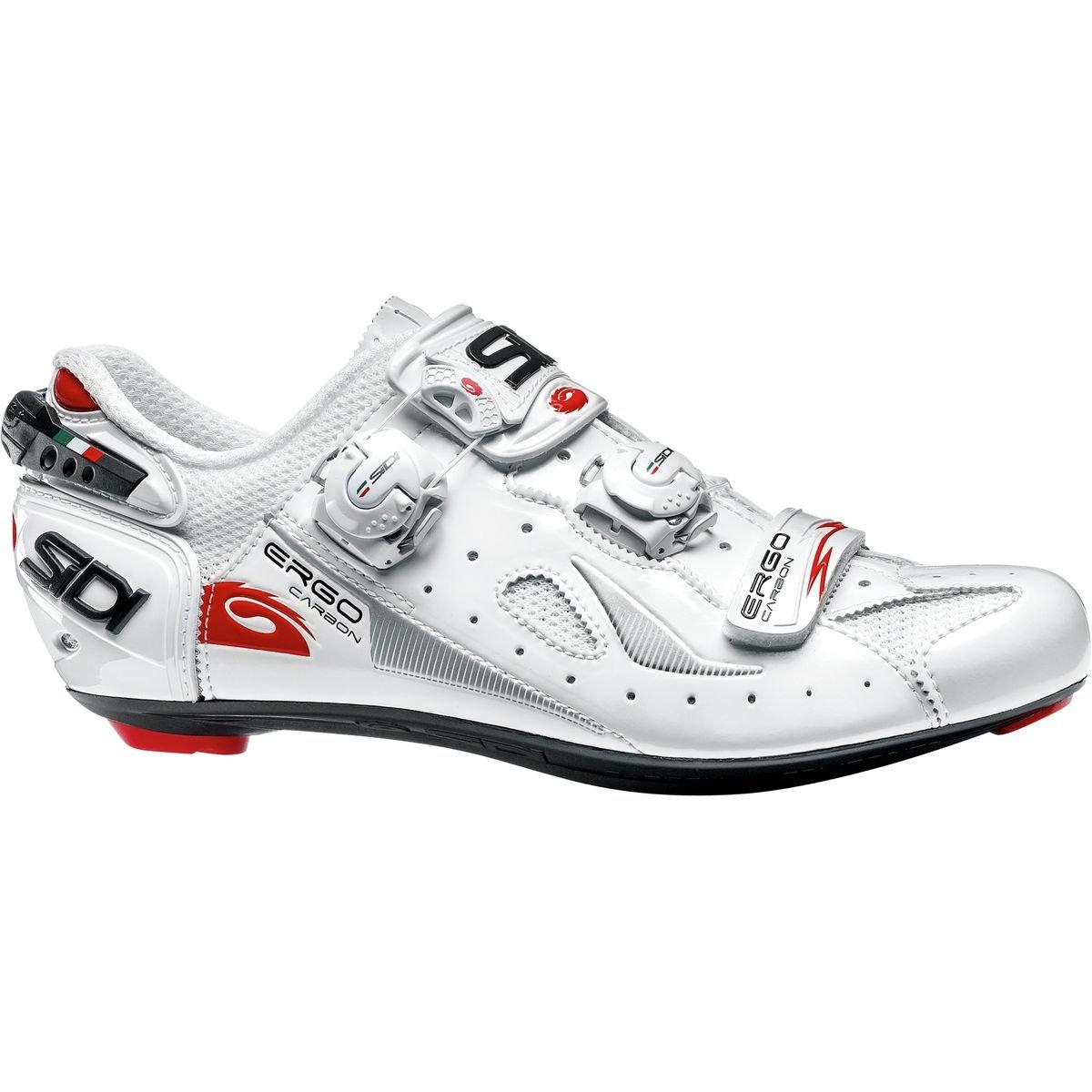 【史上最も激安】 (シディ) Sidi Ergo 4 Carbon Carbon (45) Cycling Shoe メンズ Sidi ロードバイクシューズWhite [並行輸入品] 日本サイズ 29cm (45) White B07G75RBF4, journal standard Furniture:e8b9d1fc --- by.specpricep.ru